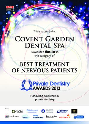 best treatment of nervous patients 2013 x300